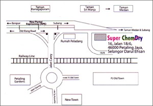 superchemdry map